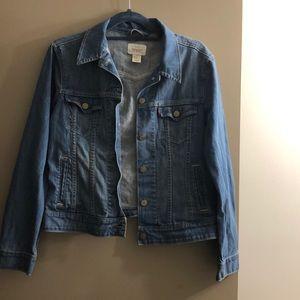 Levi blue jean jacket